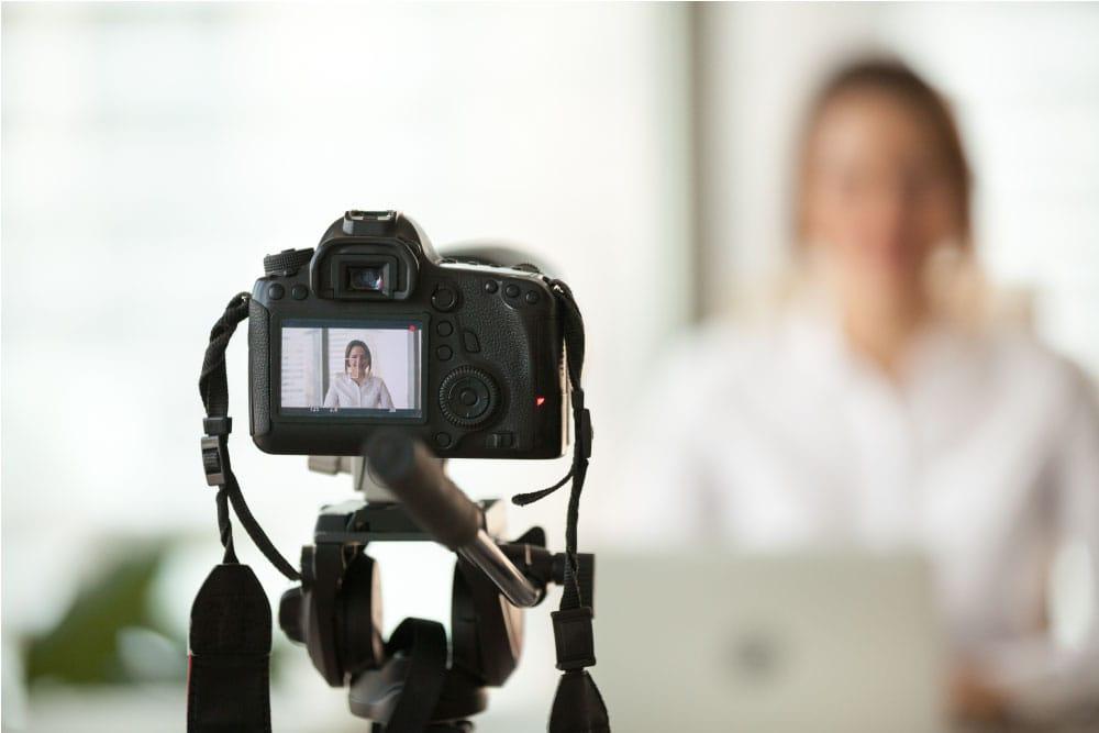 Firmentraining Webcam ist Tor zum Kunden