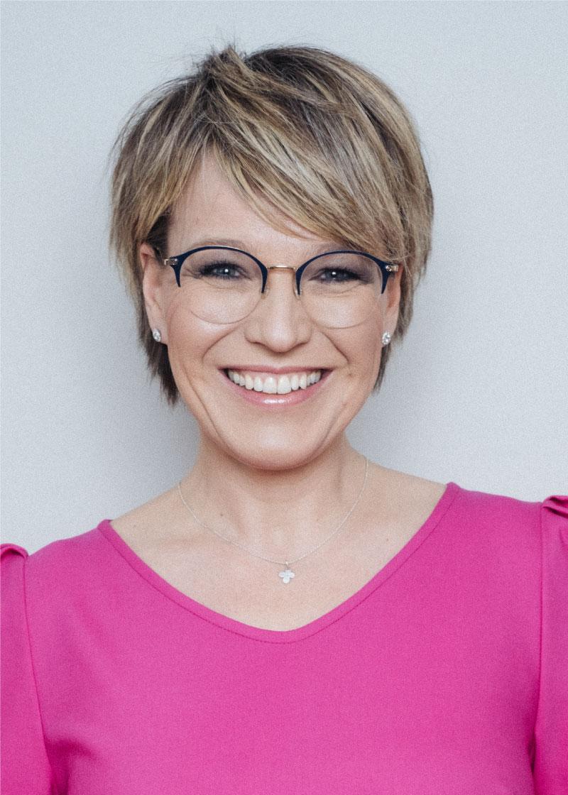 Videocoach und Moderatorin Andrea Ballschuh